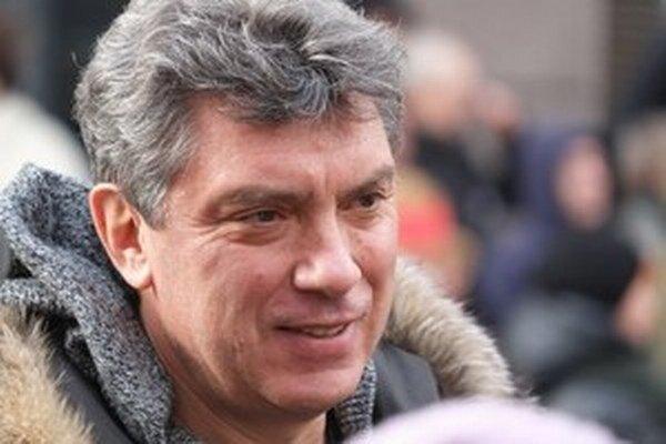 Zavraždený Boris Nemcov.