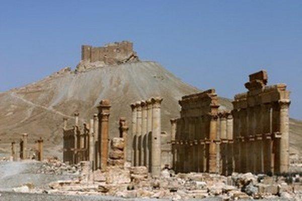 Starovekej Palmýre hrozí zánik.