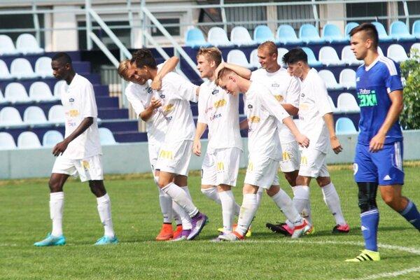 Mladí Nitrania sa z gólu tešili až päťkrát.