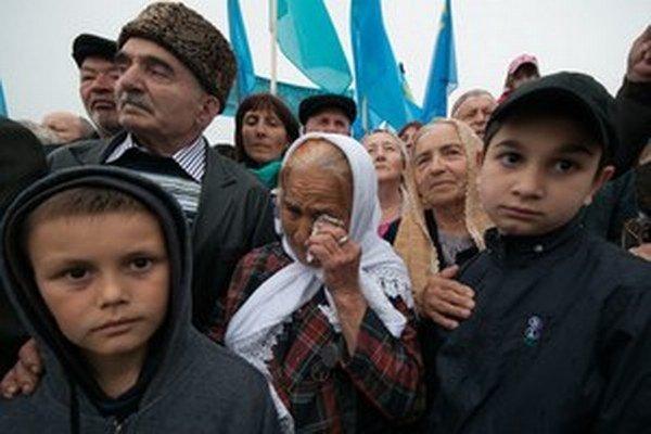 Obmedzovanie práv a násilie hrozí aj Krymským Tatárom na Kryme.
