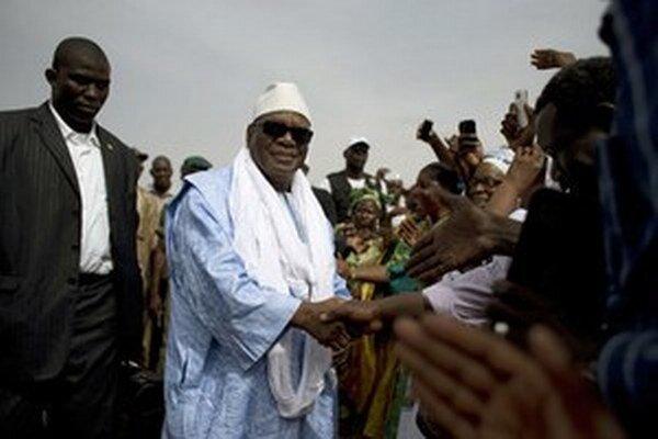 Malijský prezident Ibrahim Boubacar Keita.