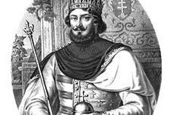 Ľudovít I. Veľký, uhorský a poľský kráľ.