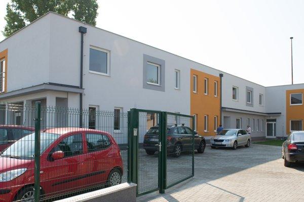 Nový azylový dom v Nitre.