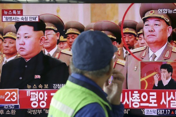 Ministra obrany Hjon Jong-čchola popravili.
