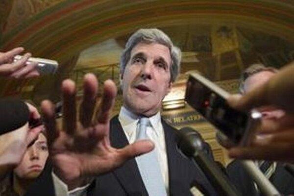 Minister zahraničných vecí USA John Kerry.