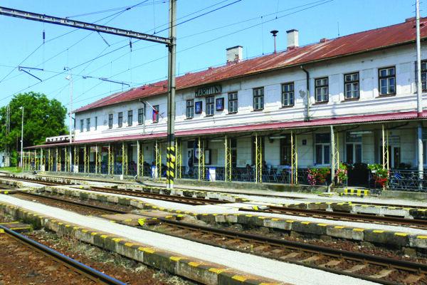 Martinská železničná stanica.
