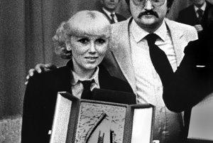 S textárom Kamilom Peterajom po víťazstve na Bratislavskej lýre v roku 1980.