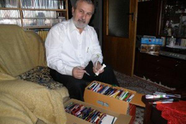 Jedna z najpočetnejších je Čauderova zbierka pier.