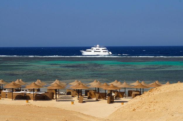 Príjemne sa okúpať v mori môžete v Egypte od mája do novembra.