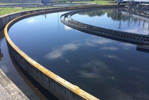 Čistiareň odpadových vôd v Liptovskom Mikuláši.