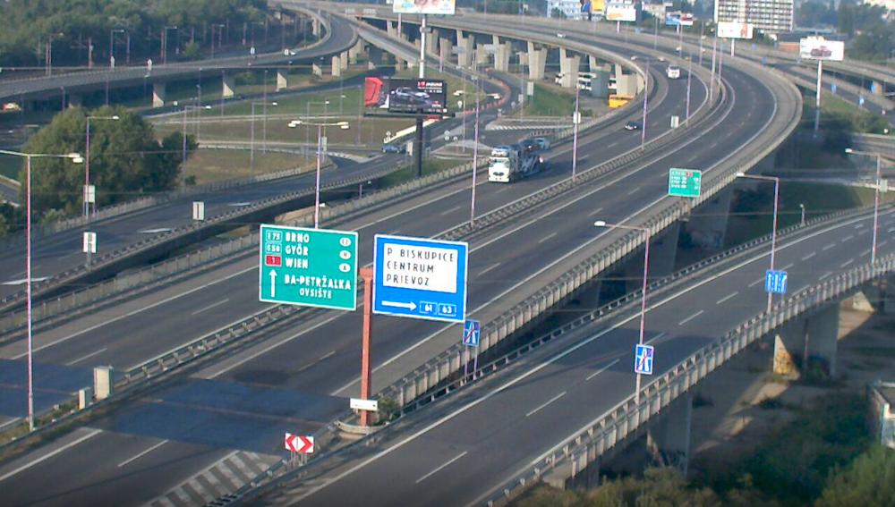 Bratislavský obchvat.