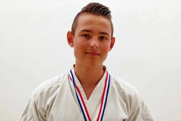 Adam Jurák. Vybojoval bronz.