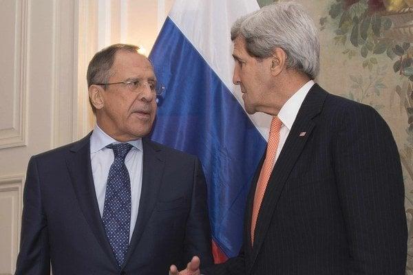 Lavrov a Kerry.