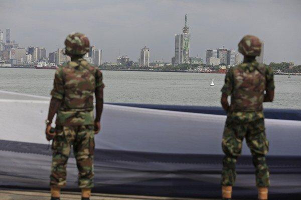 Nigérijskí vojaci.