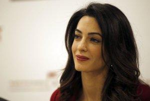 Britská právnička Amal Clooneyová.