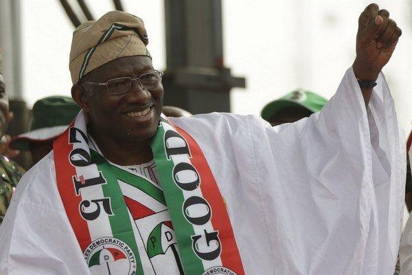 Nigérijský prezident Goodluck Jonathan.