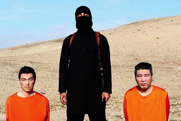 Japonskí rukojemníci.