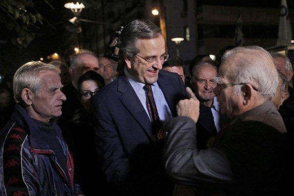 Samaras varuje pred Syrizou, no favoritom na budúceho premiéra je líder Alexis Cipras.