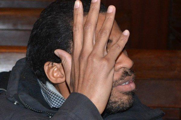 Joachin sa na súde nechcel fotiť.