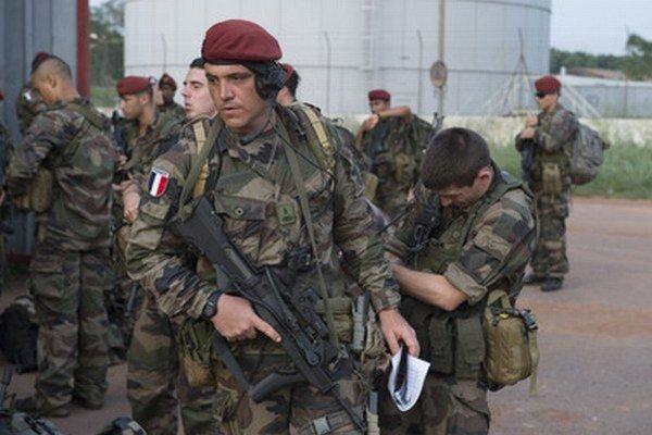 Francúzski vojaci v SAR.