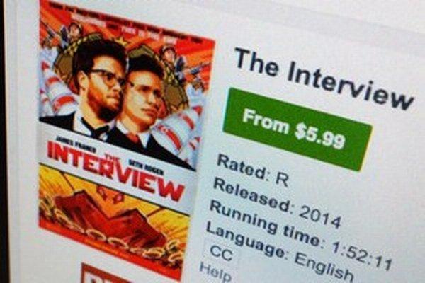 Kontroverzný film Interview sa Severnej Kórei nepáči.