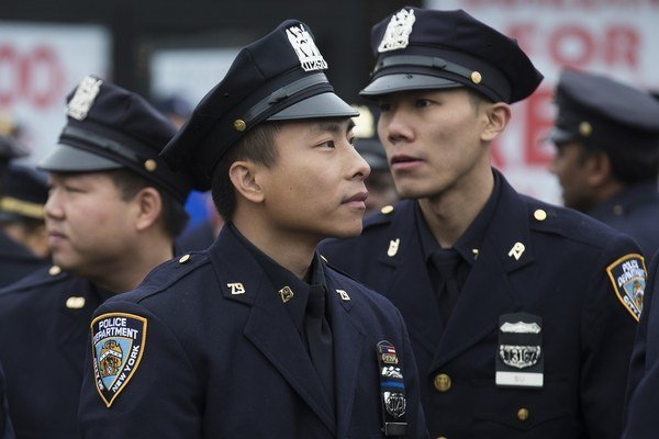 Newyorská polícia.