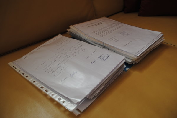 Stovky strán listov, vyjadrení adokumentov. Anna Lopatová sa obrátila na rôzne inštitúcie.