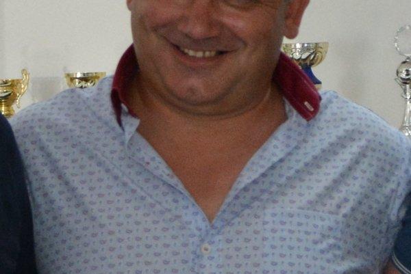 Predseda ŠK Slovan Peter Hudok.