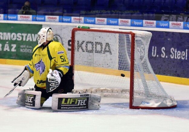 Tomáš Tomek dostal od Košičanov šesť gólov.