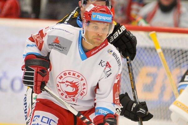 Rastislav Špirko aktuálne hráva za Třinec.