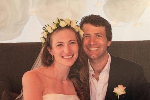 Ole Einar Ole Einar Björndalen a Darja Domračevová sa zosobášili v júli tohto roka.