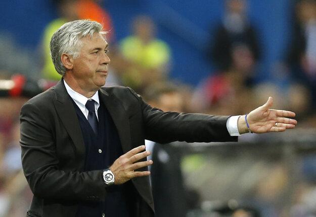 Carlo Ancelotti svojmu tímu dôveruje.