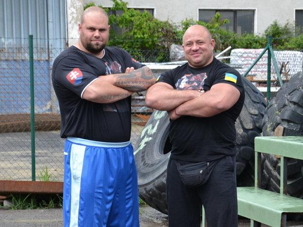 Silná dvojka - Milan Šuľan s Konstantinom Ilinom.