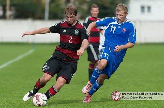 Švajlen proti Nemecku odohral celý zápas.