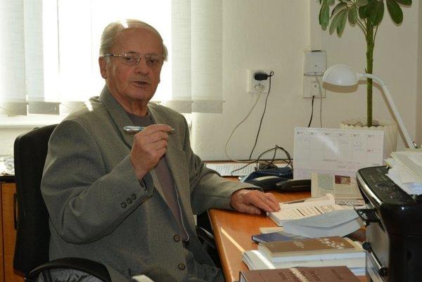 Imrich Sedlák. Zomrel v nedeľu, vo veku 83 rokov.