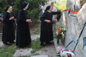 Pietna spomienka pri príležitosti 65. výročia Akcie Rehoľníčky.