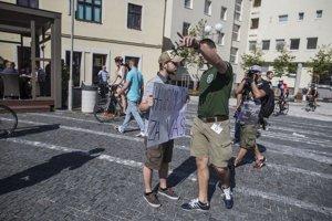 Protest v Trnave bol pokojný aj napriek incidentu.