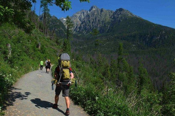 Počasie v horách je cez leto nepredvídateľné, mení sa rýchlo, turisti by preto mali klásť dôraz na plánovanie túry.