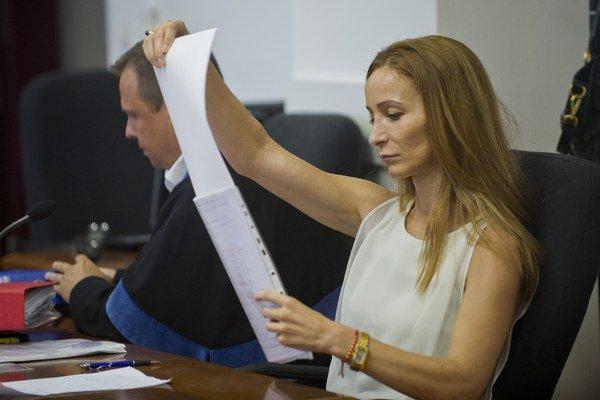 Obžalovaná Eva Z. si podľa prokuratúry objednala vraždu manžela.