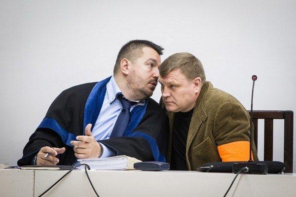 Sergej Salmanov počas odvolacieho konania na Najvyššom súde SR.