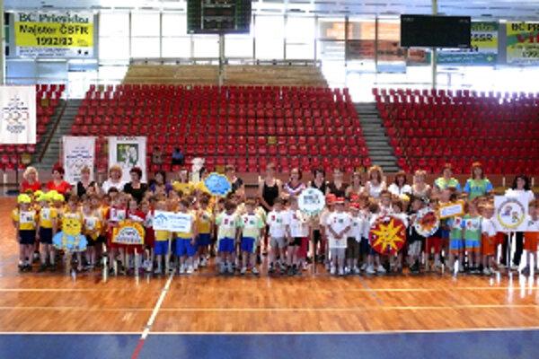 Deti z materských škôl ukázali svojho športového ducha.