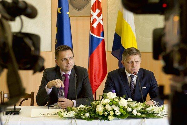Vláda na čele s Robertom Ficom rokovala v Špačinciach.