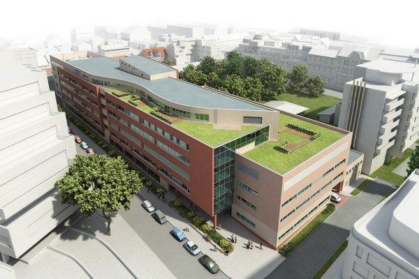 Na snímke vizualizácia Nemocnice svätého Michala v Bratislave.