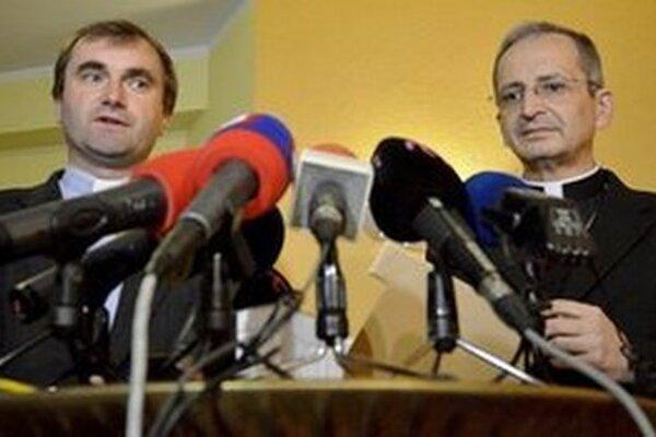 Metropolita Stanislav Zvolenský (vpravo).