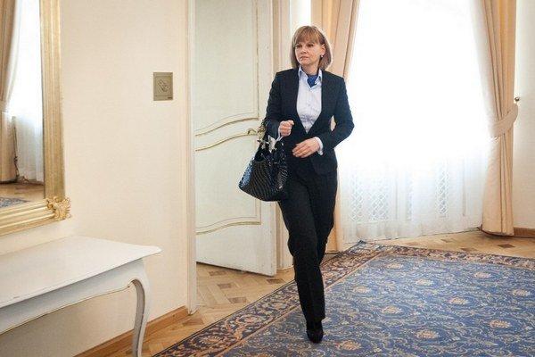 Smer sa na odvolanú ministerku nehnevá, pošle ju zastupovať Slovensko do Bruselu.