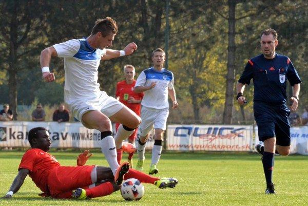 Peter Ďungel zabral ako sa patrí, jeden gól dal ana druhý prihral.