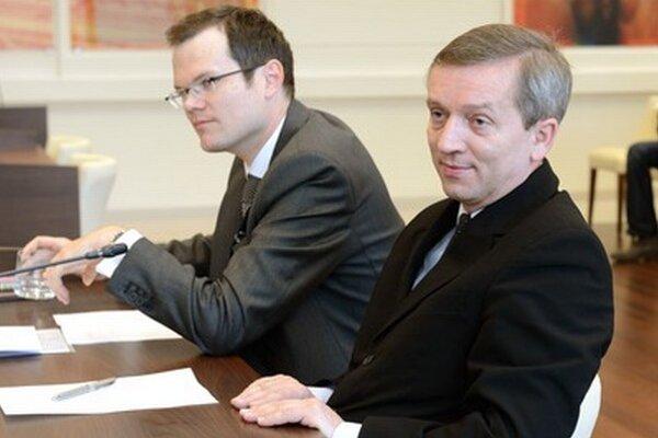 Jozef Čentéš (vpravo).