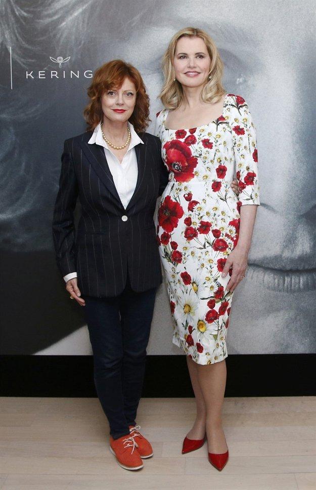 Thelma a Louise. Susan Sarandon a Geena Davis sa skamarátili v roku 1991 pri nakrúcaní legendárneho filmu.