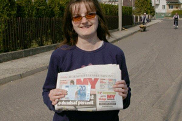 Eva Bieliková použije peniaze z výhry na kúpu liekov.