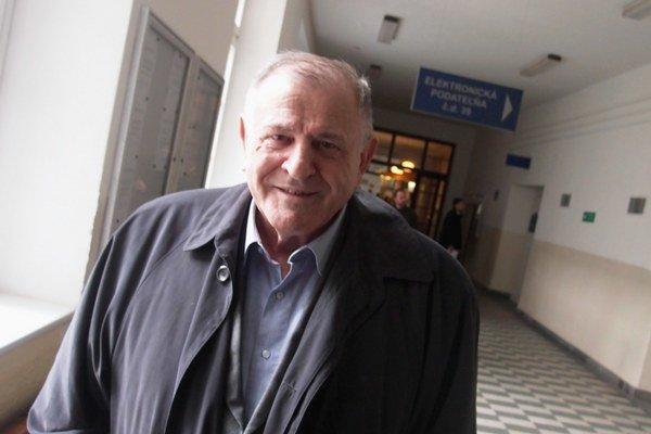 Vladimír Mečiar na súde.